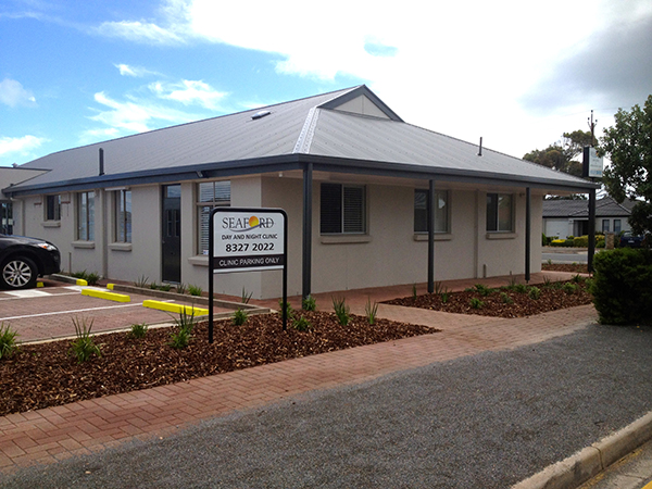 Seaford day and night clinic roksolid construction for 35 dutton terrace medindie